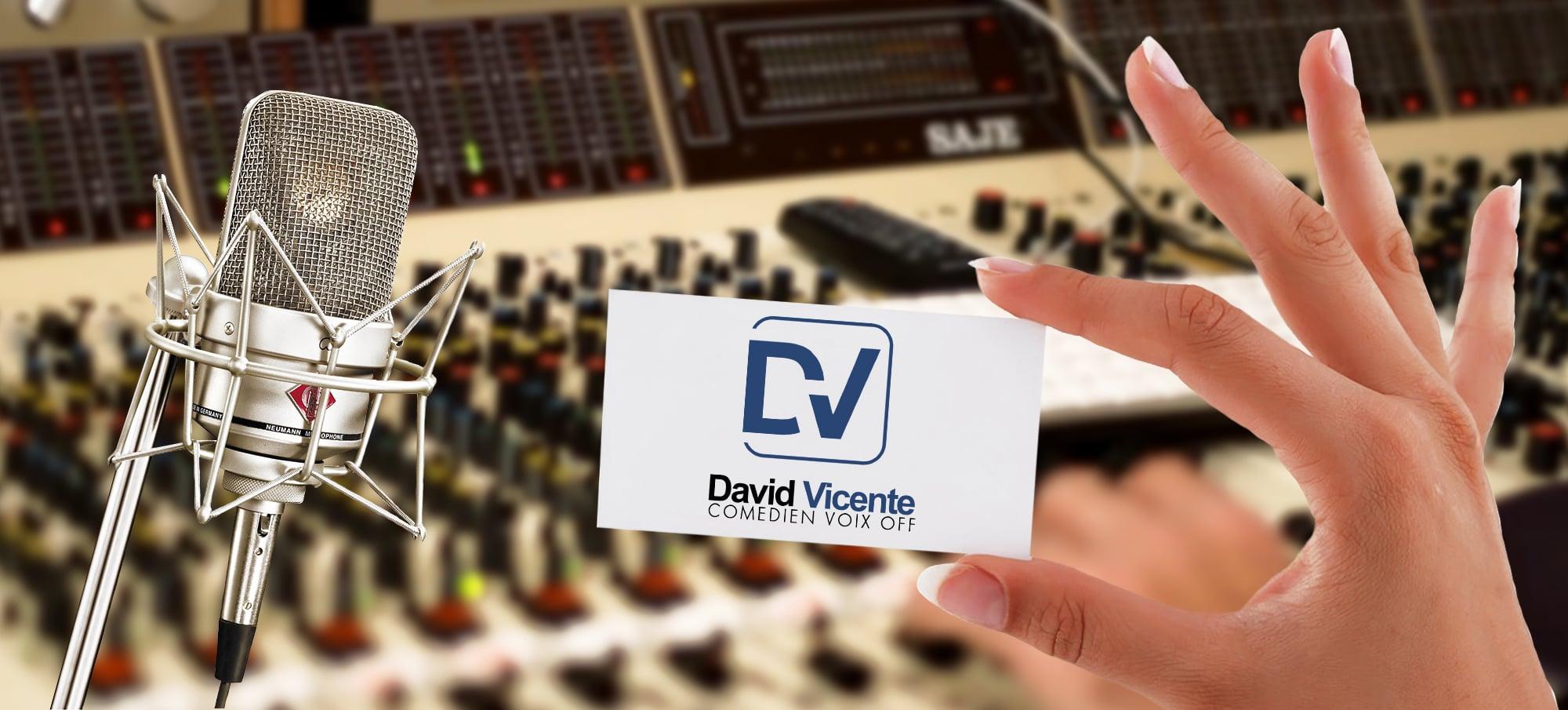 David Vicente Comédien voix off - Démos voix off